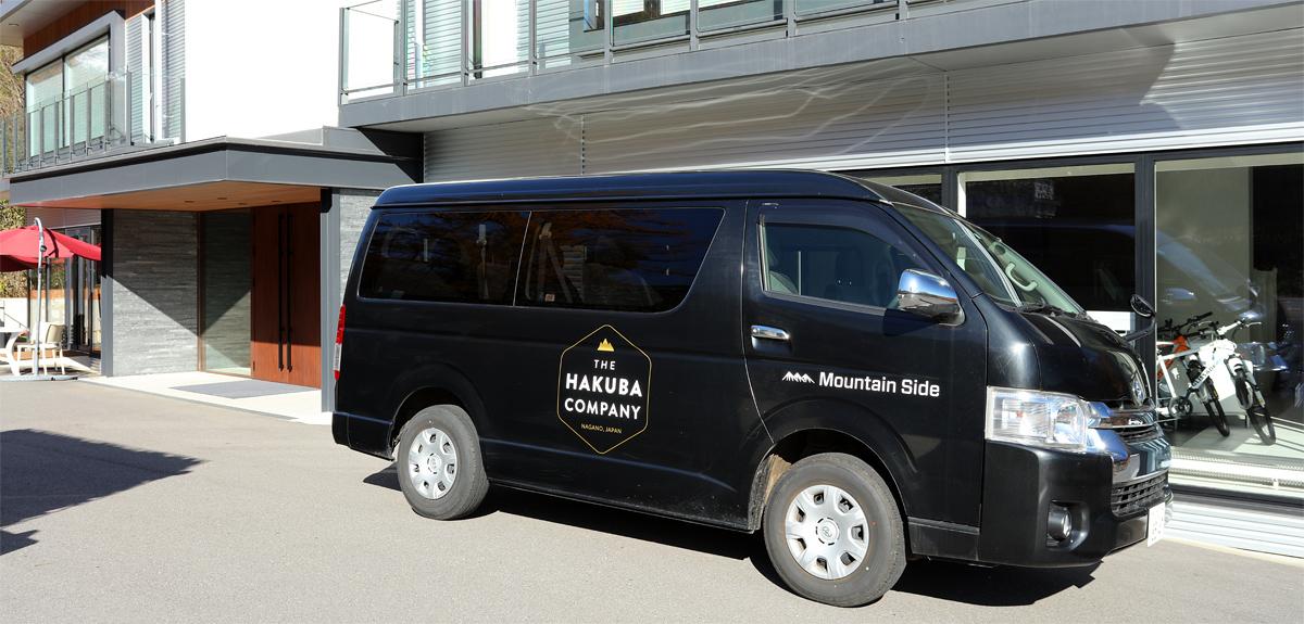 The Hakuba Company 急募 送迎ドライバースタッフ