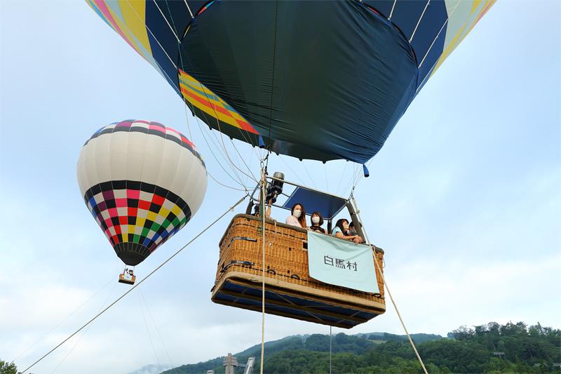 白馬ジャンプ競技場横_気球会場